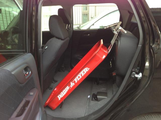 軽自動車 N-ONEにローダウンラジオフライヤーを積む4