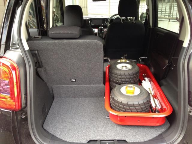軽自動車 N-ONEにローダウンラジオフライヤーを積む