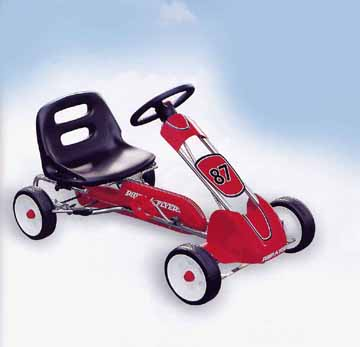 Radio Flyer Speedy Pedal Car #87